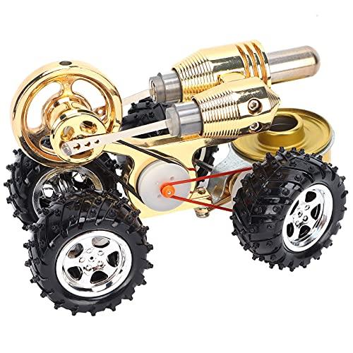 Tenpac Regalos De Juguete De Ciencia Física, Modelo De Motor De Coche Stirling Práctico para Aprendizaje De Física/Mecánica para Accesorios De Demostración para Profesores Y Estudiantes
