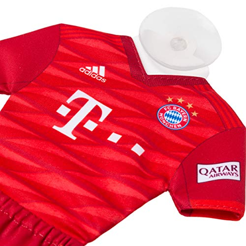 FC Bayern München Mini Kit/autopricot/shirt met zuignap - nieuw design FCB - plus gratis sticker Forever München