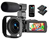 Best Camcorders - Video Camera Camcorder, 2.7K Ultra HD 36MP Vlogging Review