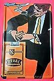 Froy Reval Zigaretten Reemtsma Werbung Reklame Kneipe Wand