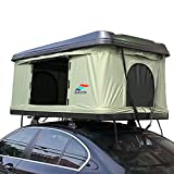 DragonLi Rooftop Tents General Motors Trucks SUVs Camping Travel Camping Tent fold Travel Box Rainproof Rooftop Tent Adventure Camping Outdoors (Black Green)