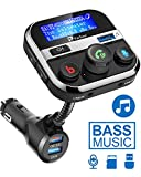 Best Car Mp3 Players - Bluetooth FM Transmitter for Car, PaiTree Car Adapter Review