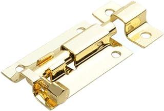 1.5/2/3/4 Inch Lange Zilveren Rvs Deur Bouten Klink Solid Glijdende Bout Klink Hasp Staple Gate Veiligheid Lock Deur Hardware