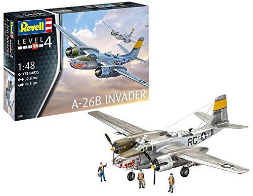 Revell 03921–a-26b Invader 1: 48Escala