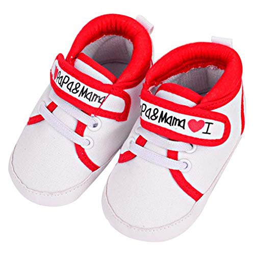 Leather Baby Soft Sole Shoes Boy Girl Infant Child Kid Toddler First Walk Gift Canvas Sand lace (12-18month, Sand)