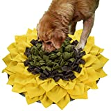 Snuffle Mat for Dogs, Dog Feeding Mat, Dog Puzzle Toys, for Encourgaing Natural Foraging Skills for Cats Dogs