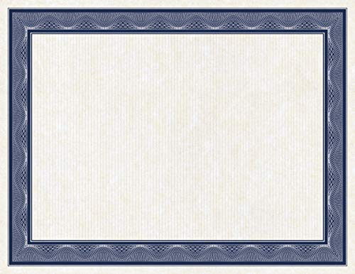 Geographics Assorted Traditional Card Stock Certificates,8.5 x 11, 40/Pack (48669)