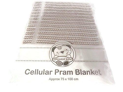 Cellular coton Landau Couverture couleur blanc 215