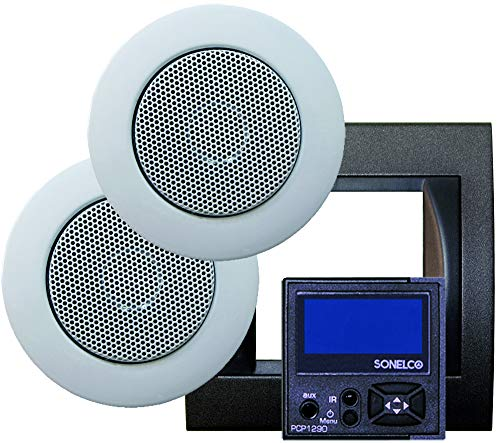 Sonelco PK2290-02 Sound System with Amplifier Control with Two Speakers