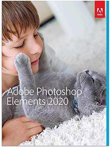 Adobe Photoshop Elements 2020 for Mac or Windows