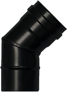 Estufa Pellet con Soporte 80 2 piezas Vitrificado Wolfpack 22013280 Abrazadera Tubo