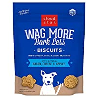 Cloud Star Wag More Bark Less Baked Bacon Apple Madness Wholesome Ingredients 3#