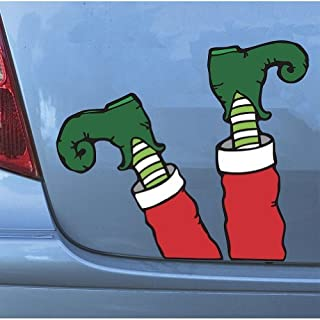 Mad Mags Hilarious Christmas Automobile Decoration (Elf Legs)
