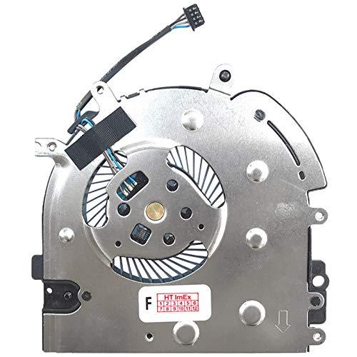 Ventilador de refrigeración compatible con HP Elitebook 840 G6 (6XD54EA), 840 G6 (7KN31EA), 840 G6 (6XD77EA), 840 G6 (7KN34EA), 840 G6 (7KN30EA)