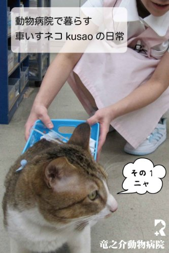 Every day of the wheelchair cat kusao which lives in an animal hospital1 kusao blog (Japanese Edition)
