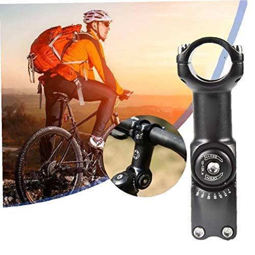 Bicicleta Madre Riser, 31,8 Mm 0-60 Grado De Bicicletas Vástago Ajustable Aleación De Aluminio De La Bici Del Vástago De Apriete Para Bicicleta De Montaña, Bicicleta De Carretera, Bmx, Bici De La