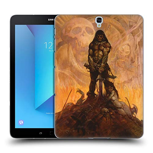Head Case Designs Officially Licensed Frank Frazetta The Barbarian Medieval Fantasy Hard Back Case Compatible with Samsung Galaxy Tab S3 9.7