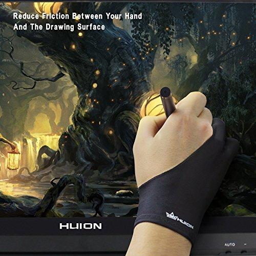 Huion Antifouling-Handschuh für Grafiktabletts - 7