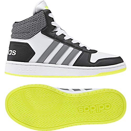 adidas Hoops Mid 2.0, Scarpe da Basket Unisex – Bambini