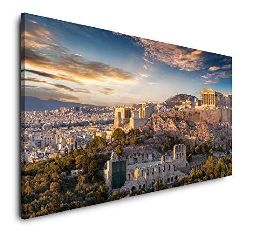 Paul Sinus Art Athen Toile panoramique 120 x 60 cm Format XXL