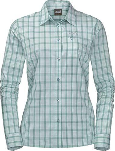 Jack Wolfskin Damen Centaura Flex Shirt W Hemd, Green Haze, M
