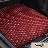 PanYFDD Mats Maletero del Coche for Mercedes Benz Clase A B C E S R ML GL GLA GLC GLK GLS C AMG GLE CL CLA C117 2006-2019s Mats Impermeables (Color : Wine Red Single)