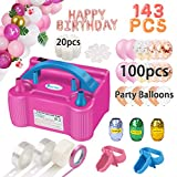 Best Balloon Pumps - Balloon Pump, Party Balloons 12 Inches Kit Review