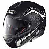 Nolan N104Absolute como–Casco Moto policarbonato N- Com–Metal Negro Tamaño 2X L