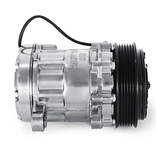 Mophorn CO7176C sanden style Universal Air Conditioner AC Compressor 7176 SD7B10 2010061 167515 168515