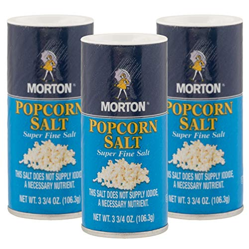 Great Features Of Morton Popcorn Salt Shaker Bulk Popcorn Seasoning Set 3.75oz Super Fine Salt Groce...