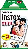 Fujifilm Filme Instax Mini com 20 Fotos, 8.6 x 5.4 cm