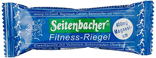 Seitenbacher Fitness-Riegel, Schoko 50g, 12er Pack (12 x 50 g)