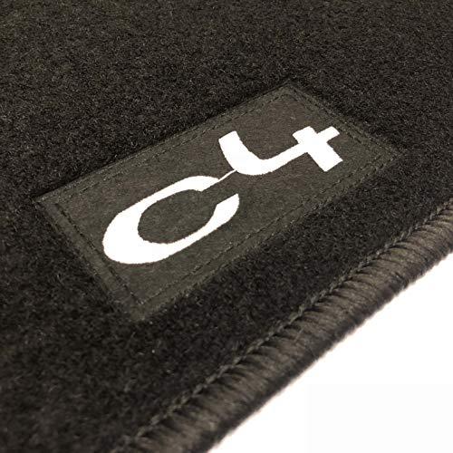 Alfombrillas Citroen C4 Grand Picasso (2006-2013) a Medida Logo | Rey Alfombrillas®