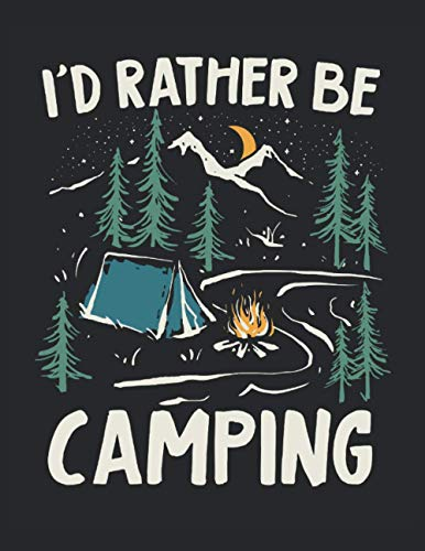 """Calendar 2021-2022 Planner Monthly for Camper, Camping Lover, RV Owner: Monthly Planner 2021-2022 , 8.5"""" x 11"""" with 120 pages. January 2021 - December 2022."""