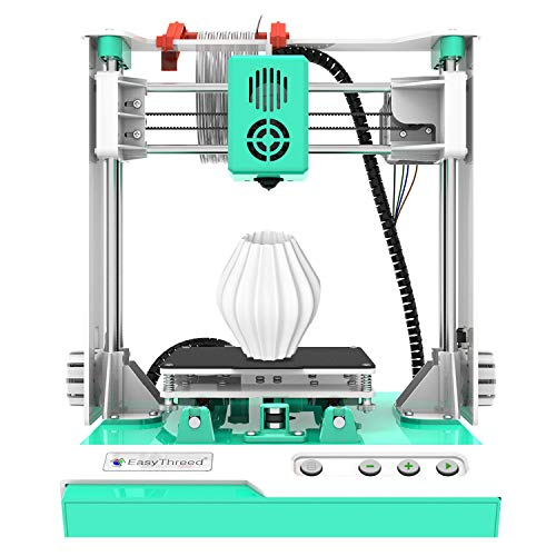 BLIENCE 3D Printer,99% Pre-Assembled Entry-Level Printer,Desktop Mini 3D Printer DIY kit for Kids,Beginners,Adults,Education with 10M 1.75mm PLA Filament,Printing Size100x100x100mm(Model: K1)