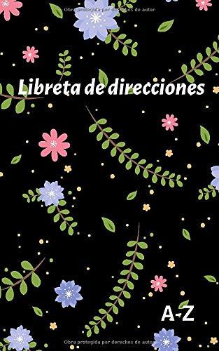 Libreta de direcciones: Agenda de direcciones y teléfonos pequeña, 110 páginas, ordenación alfabética