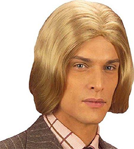 Générique pe747/blond Pruik voor heren, blond, eenheidsmaat