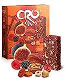 CRO PALEO BAR * Barra energética inspirada para una dieta PALEOLITICA* 100% natural * 6 x 40 g* higos secos, dátiles, frutos secos y frutos rojos