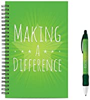 Successories 742318 Making a Difference Spiral Notebook with Matching Pen [並行輸入品]