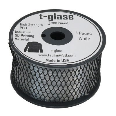 Aleph Objects Inc.Taulman Filament, T-glase, 3 mm, 1 lb. Haspel, Zwart