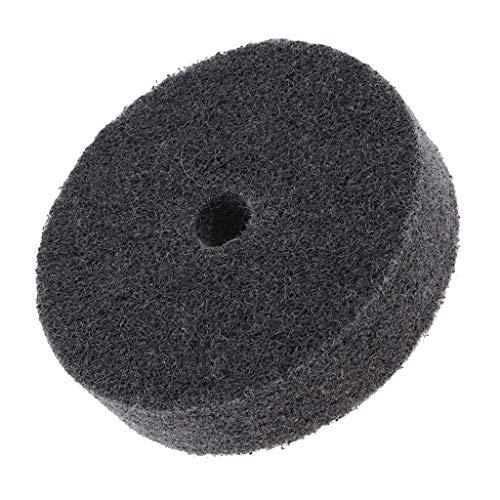 MERIGLARE 1 Peça 3 '' Roda de Polimento de Fibra de Nylon para Esmeril para Bancada Cinza Reino Unido