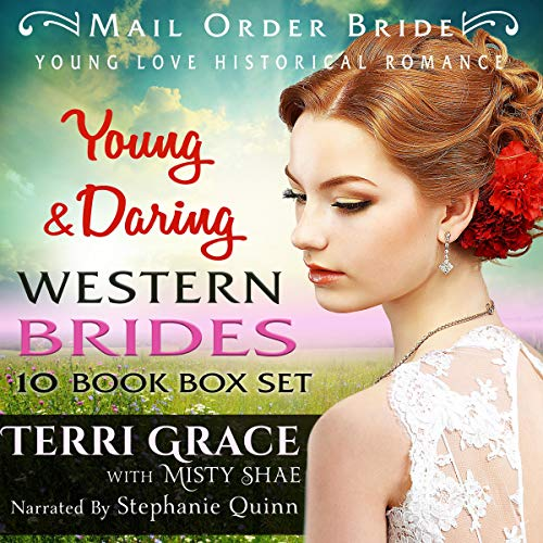 Young & Daring Western Brides 10 Book Box Set  By  cover art