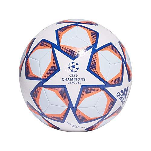 Adidas Men's FIN 20 TRN Soccer Ball, White/Team Royal...
