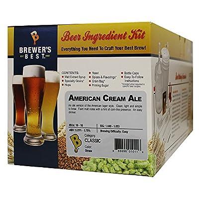 Home Brew Beer Ingredient Kit (5 gallon), (American Cream Ale)