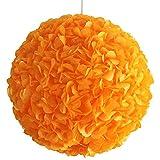 Yellow-Orange Fluffy, Ø 32cm, gelb orange Lampe Leuchte Lampenschirm Pendellampe Pendelleuchte...