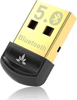 Avantree DG45 Bluetooth 5.0 USB Dongle, Bluetooth Adapter for PC Computer Desktop Laptop, Wireless Transfer for Bluetooth ...