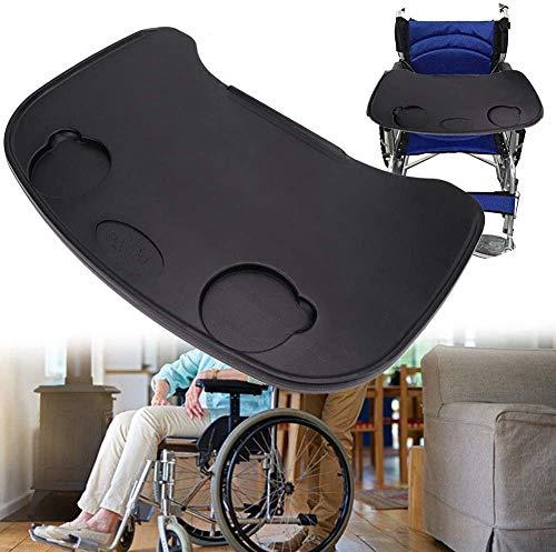 HGFLYL Rollstuhlschale, Verdickungsschutz aus Kunststoff, Universalschalen für Rollstuhlrunden Schreibtisch für manuelle oder elektrische Rollstühle, Zubehör für Rollstuhlschalen