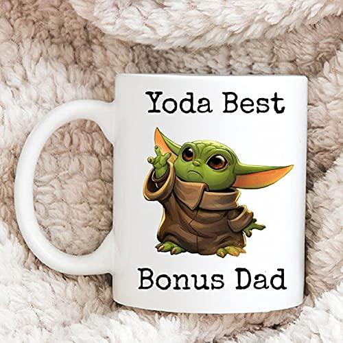 Yoda Best Bonus Dad, Dad And Daughter, Father's Day, Gift For Dad, Friend, Trending Coffee Mug 11oz