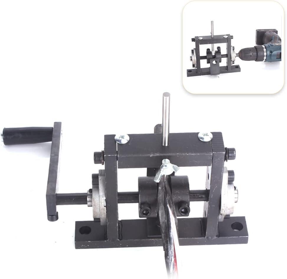 Meroteen Máquina de Pelar Cables,Pelador de Cable 1-30 mm Profesional Máquina de Pelar de Alambre para Herramienta de Mano Puede Conectar Taladro de Mano