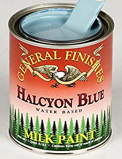 General Finishes Halcyon Blue Milk Paint 1 Quart